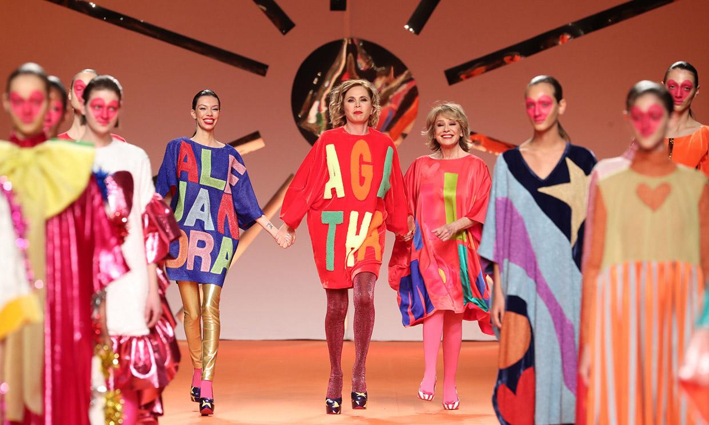 El desfile de Ágatha Ruiz de la Prada