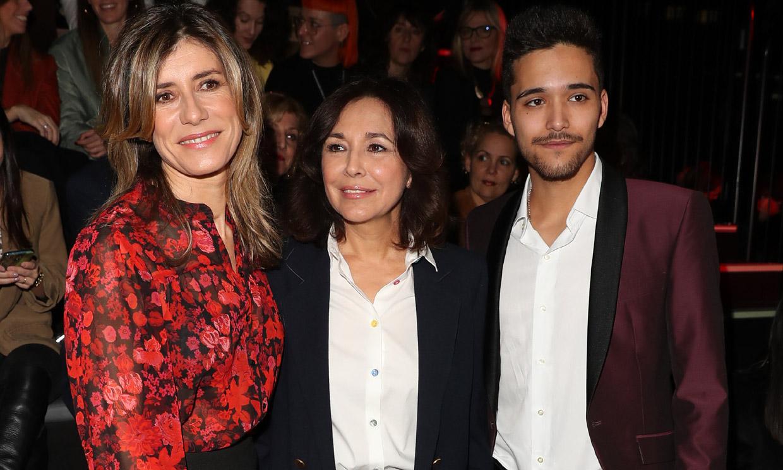 Begoña Gómez acude a su cita con la moda española en Fashion Week Madrid