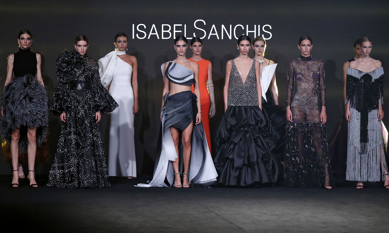 El desfile de Isabel Sanchis