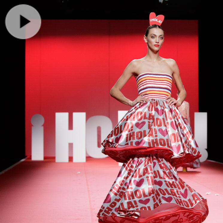El desfile de Agatha Ruiz de la Prada dedicado a ¡HOLA!, la gran sorpresa de Fashion Week Madrid