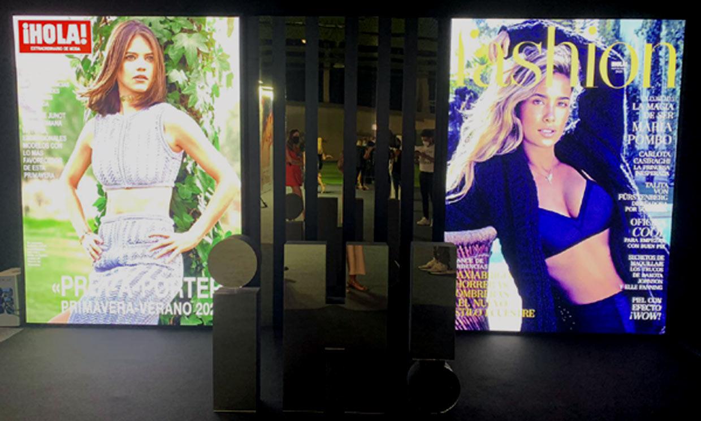 ¡HOLA! y FASHION siguen apoyando la moda española en el Cibelespacio de Fashion Week Madrid