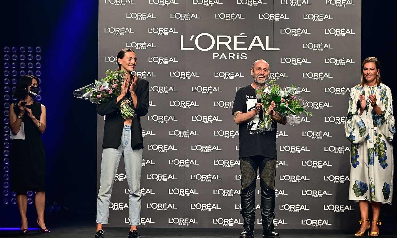 Neus Bermejo y Ángel Schlesser, ganadores de los premios L'Oréal Paris de la 72ª edición de MBFWM