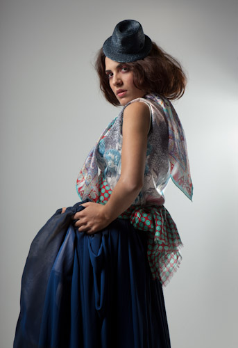Raquel Sánchez Silva se convierte en estilista para hola.com