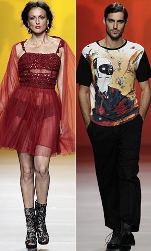 Cibeles Madrid Fashion Week: Francis Montesinos primavera ...