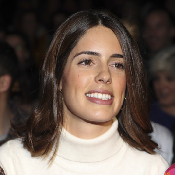 Sofía Palazuelo deslumbra en el 'front row' de Fashion Week Madrid
