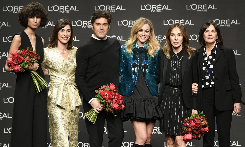 Resultado de imagen de madrid fashion week 2019 premios l'oreal