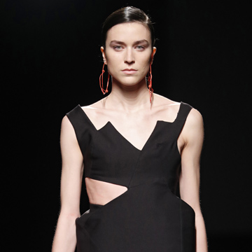 Fátima Miñana, ganadora del premio Mercedes-Benz Fashion Talent