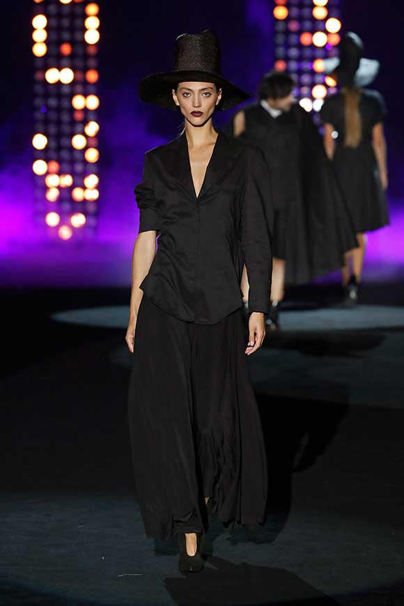 Desfile de Maison Mesa en Fashion Week Madrid